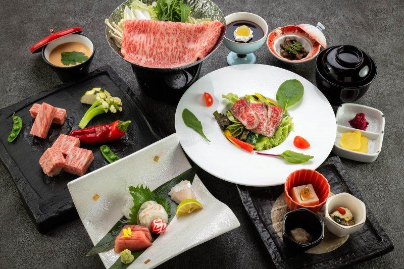 【近江牛を食す】本場の滋賀・近江でじゅわーと美味!メイン料理が選べる『近江牛会席』
