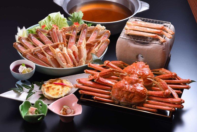 ゆで蟹一匹付き【カニコース】