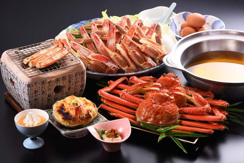 【本場直送のとれたて蟹を厳選】千松といえばカニ!ぷりっぷりのゆで蟹一匹付き【カニコース】
